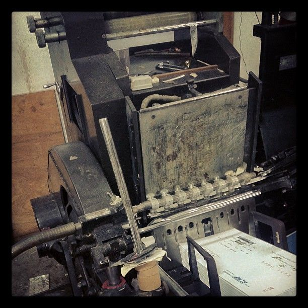 Behind the scenes hot foil stamping and embossing  #emboss #press