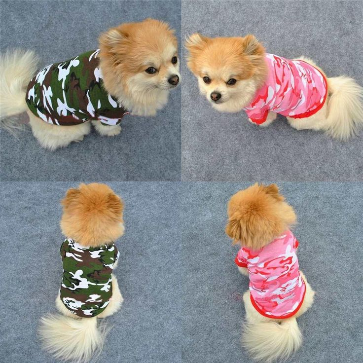pet подарок сад летний персонализированные камуфляж футболку одежда для собак puppy костюмы