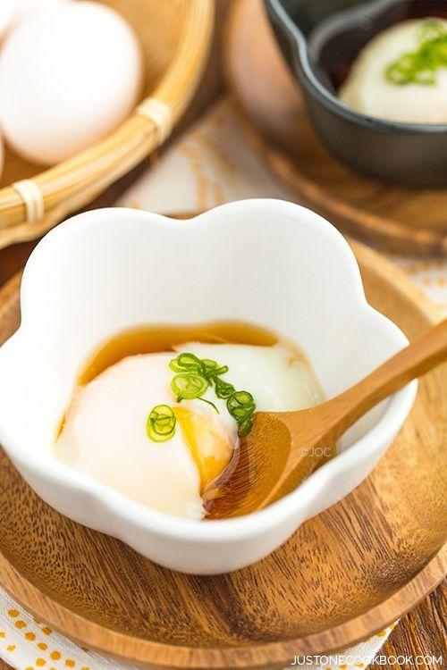 Onsen Tamago (Hot Spring Eggs) | Easy Japanese Recipes at JustOneCookbook.com