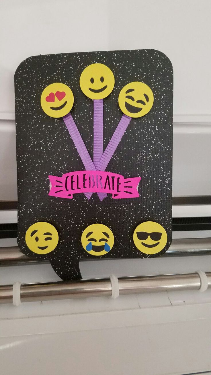 Emoji Birthday Card