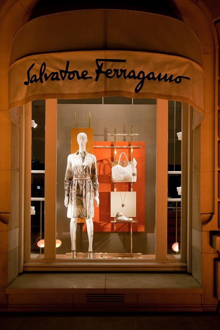 Salvatore Ferragamo Windows 2015 Spring, Paris – France » Retail Design Blog