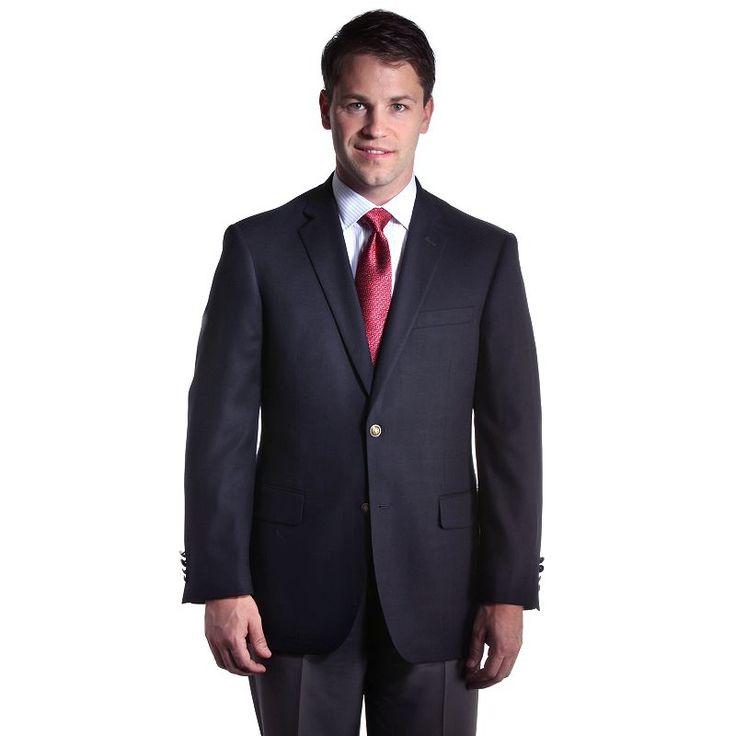 Big & Tall Jean-Paul Germain Traditional Blazer, Men's, Size: 46 X-Long, Blue