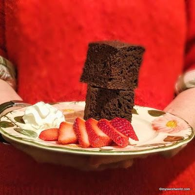 Sweetys World: Schoko-Brownies, vegan