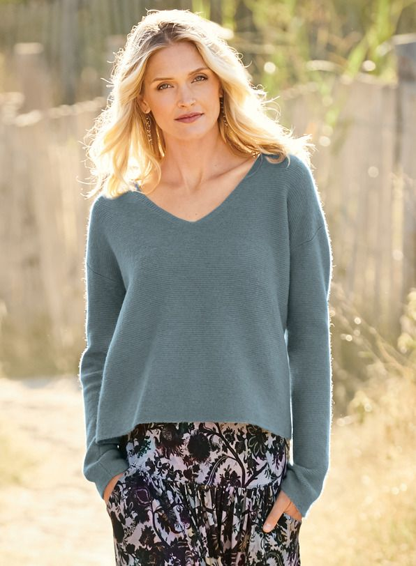 fffcaa301505 Our blissfully soft and frothy pullover is links knit of woolen-spun ...