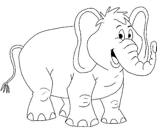 Dieren Kleurplaten voor kinderen. Kleurplaat en afdrukken tekenen nº 147