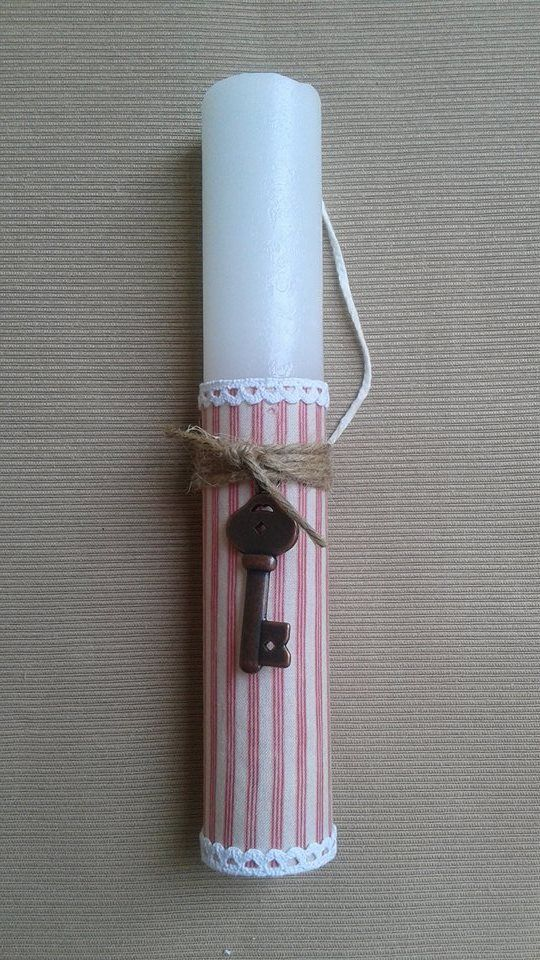 Handmade Easter Candle