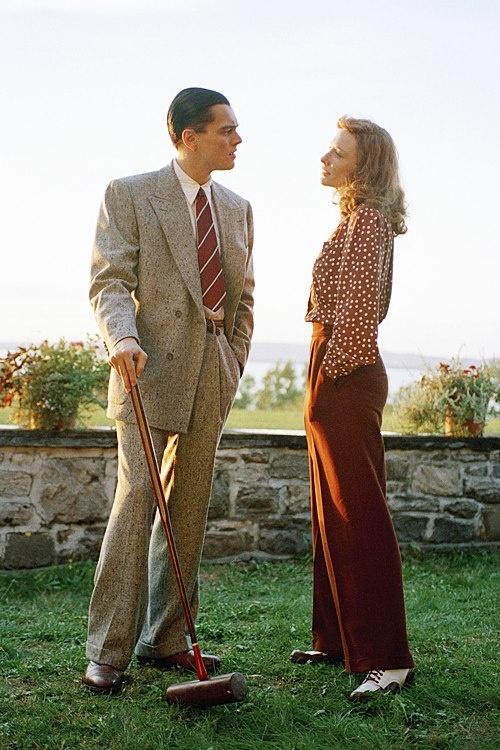 """Cate Blanchett and Leonardo Di Caprio in """"The Aviator"""", (2004)"""