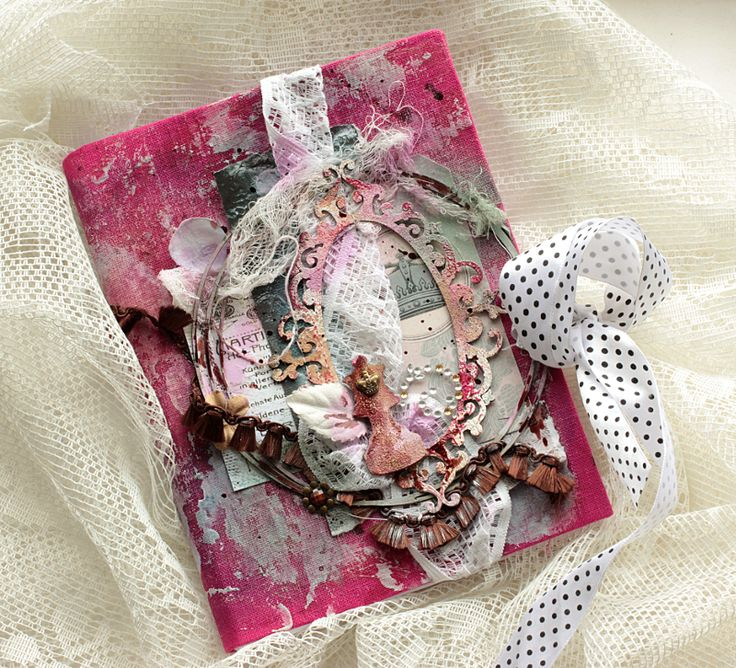 Mixed Media Cover for 2Crafty Chipboard
