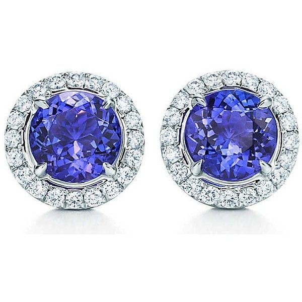 TIFFANY & CO Tiffany Soleste earrings in platinum with tanzanites and... (€6.205) ❤ liked on Polyvore featuring jewelry, earrings, diamond jewellery, tanzanite earrings, tiffany co earrings, platinum earrings and tanzanite jewellery