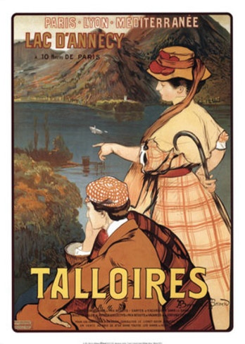 Talloires, lac d'Annecy, France