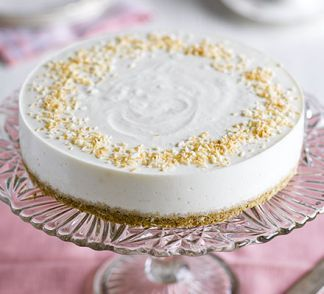 Mascarpone & pineapple cheesecake