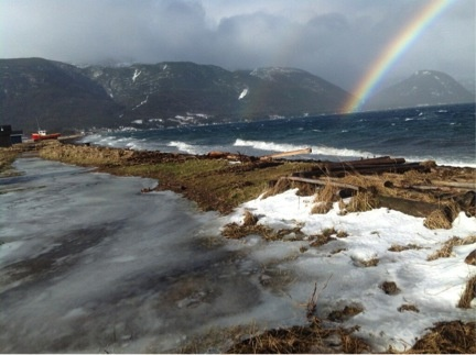 Newfoundland is even beautiful in a storm.