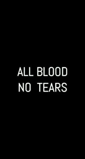 """""""All blood, no tears,"""" Radley joked dryly. Eli smiled wistfully. """"Maybe you look good when you cry."""" Radley laughed and then winced at the pain it must have caused him. He coughed, wiping blood from his mouth with the back of his hand. """"No one looks good when they cry."""" But even as he said it he began to cry -- real tears this time, not just blood smearing his cheeks. Eli started to cry too."""