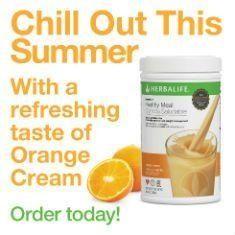Orange Cream!! https://www.goherbalife.com/blancah
