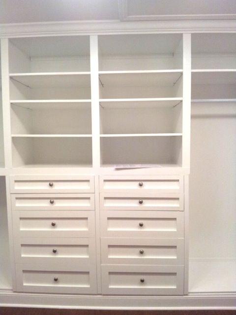 Custom Master Closet Built ins
