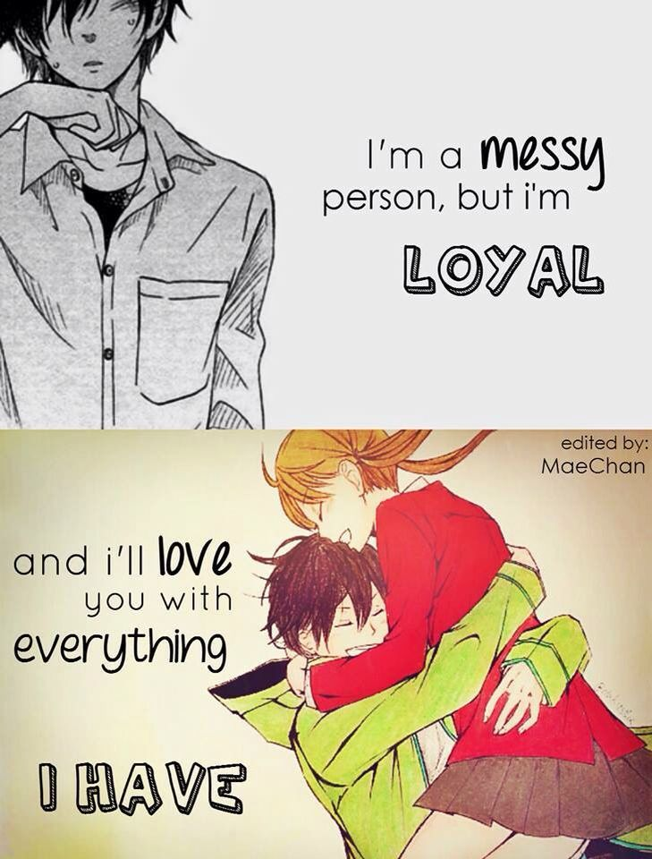 anime love and sayings quotes quotes canyon