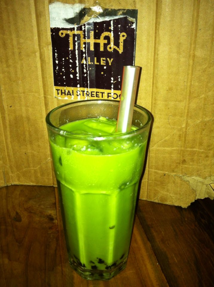 Iced Thai Green Tea
