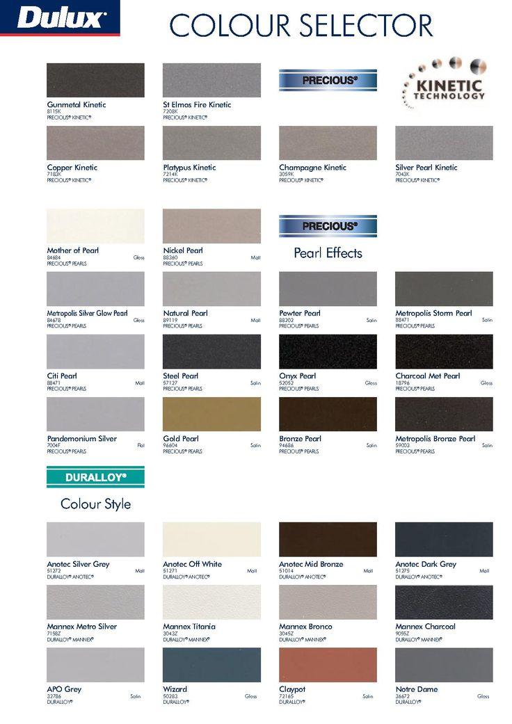 Dulux Colour Chart Dulux Colour Chart Dulux Paint Chart