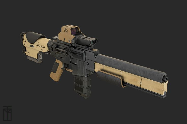 AR-15 Electromagnetic Mod