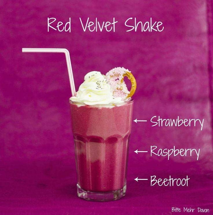 Frühstück für die Seele mit einem Red Velvet Shake (glutenfrei und sehr gesund) und einem Accessoire von Kapten and Son #kaptenandson #bekapten #redvelvetshake #redvelvet #milchshake #milkshake #healthybreakfast