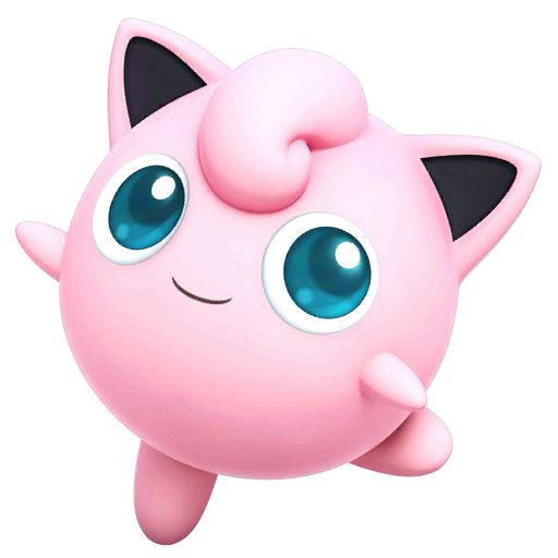Jigglypuff - new sprite for SSB4