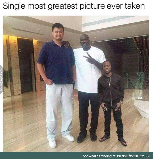 Kevin Hart is only 4 feet
