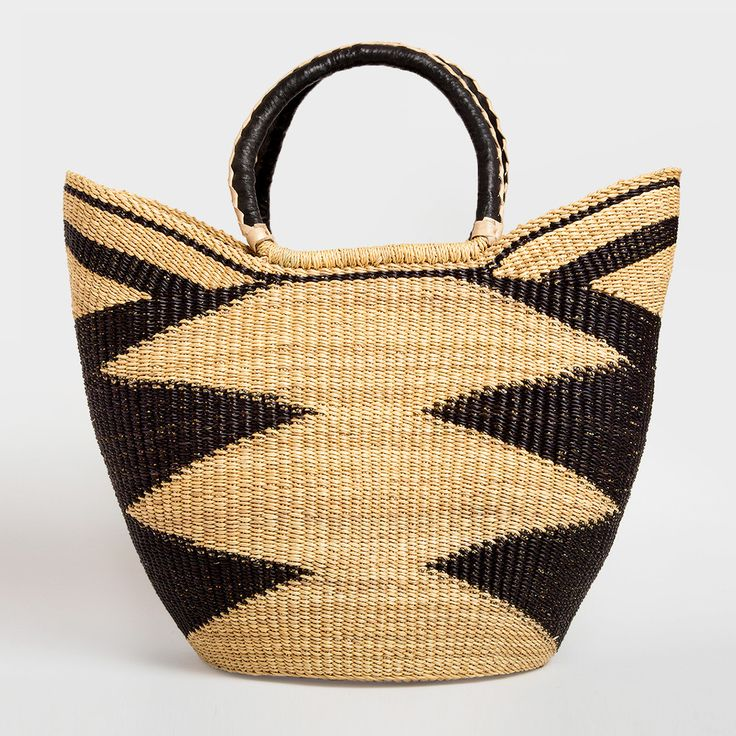 Ghanaian Woven Tote by Swahili