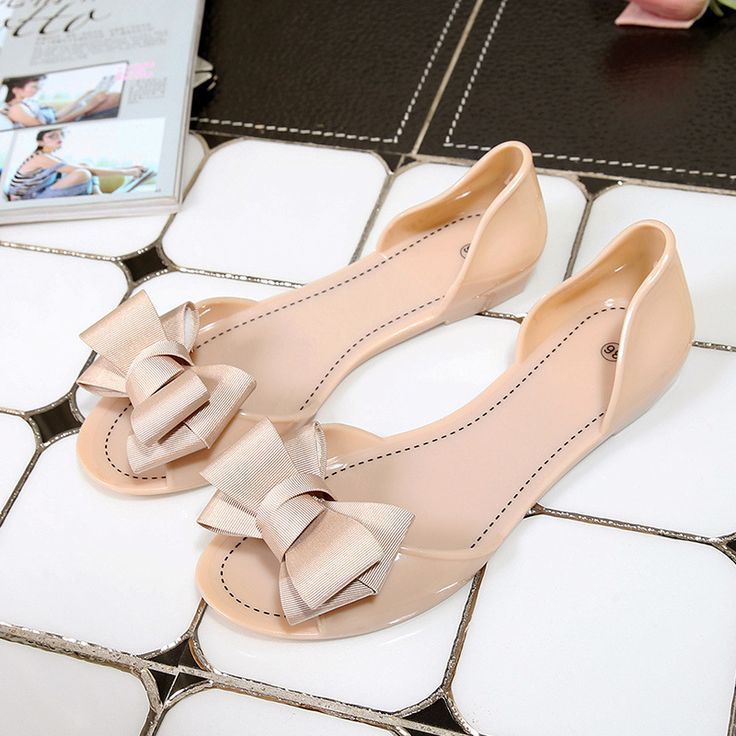 $9.98 (Buy here: https://alitems.com/g/1e8d114494ebda23ff8b16525dc3e8/?i=5&ulp=https%3A%2F%2Fwww.aliexpress.com%2Fitem%2FWomen-Jelly-Sandals-Beach-Jelly-Shoes-Woman-Summer-Flip-Flops-Bowtie-Slippers-Slip-On-Flats-Casual%2F32800632060.html ) Women Jelly Sandals Beach Jelly Shoes Woman Summer Flip Flops Bowtie Slippers Slip On Flats Casual Women Shoes XWZ3344 for just $9.98