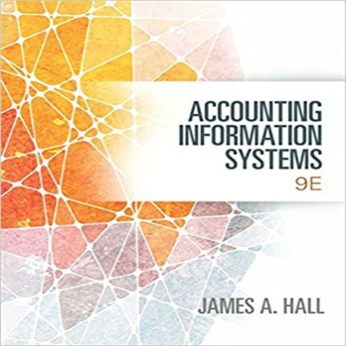 The 73 best test bank images on pinterest manual textbook and download full test bank for accounting information systems 9th edition by hall free pdf 978 fandeluxe Images
