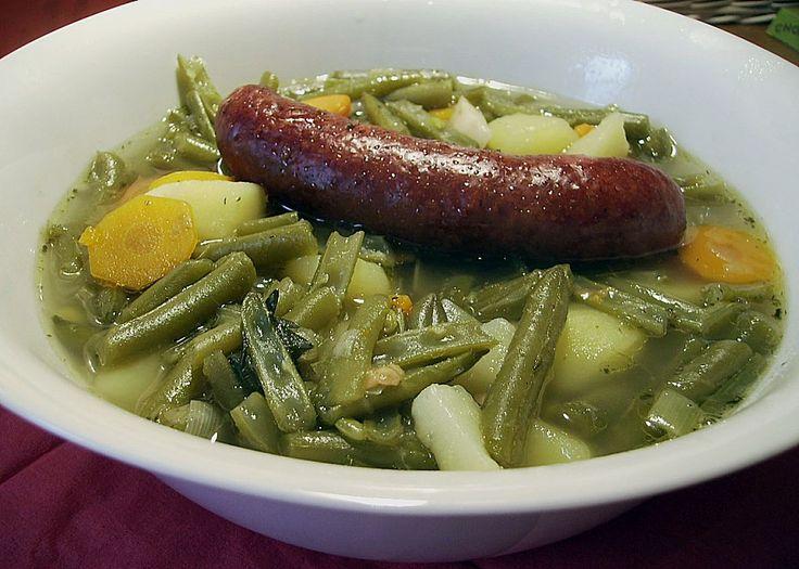 Grüne Bohnensuppe, ein raffiniertes Rezept aus der Kategorie INFORM-Empfehlung. Bewertungen: 186. Durchschnitt: Ø 4,5.