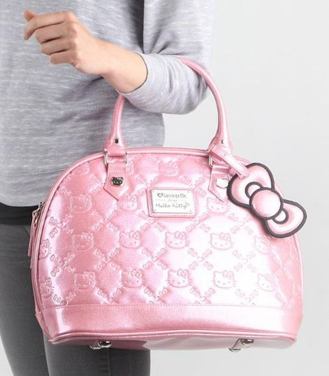 Seriously pink #Loungefly loves #HelloKitty handbag