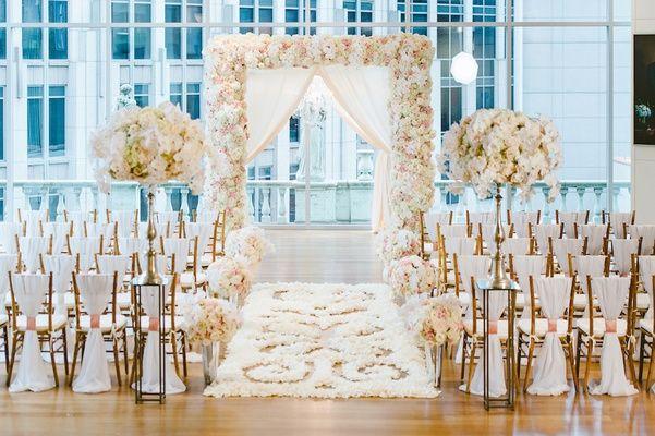 Indoor Ceremony Inspirations: Best 25+ Extravagant Wedding Decor Ideas On Pinterest