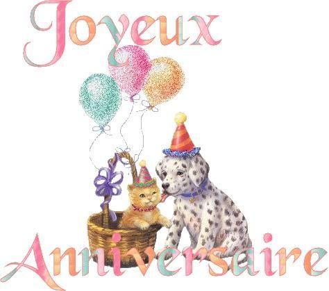 Célèbre Les 25 meilleures idées de la catégorie Joyeux anniversaire chien  LW82