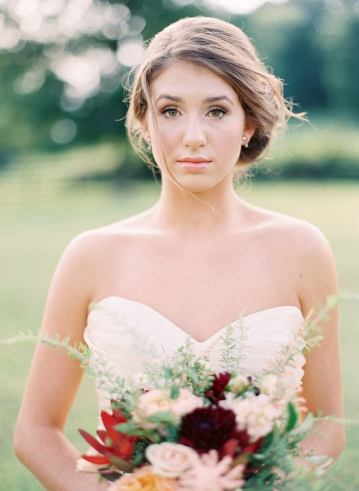 Blush and gold tennessee wedding inspiration at southall