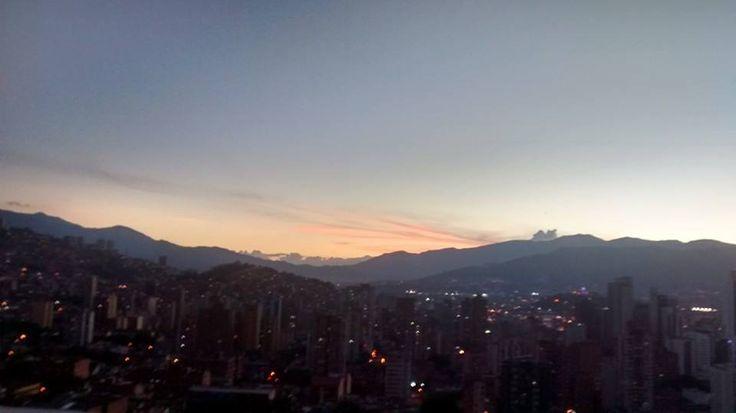 Atardecer Medellin