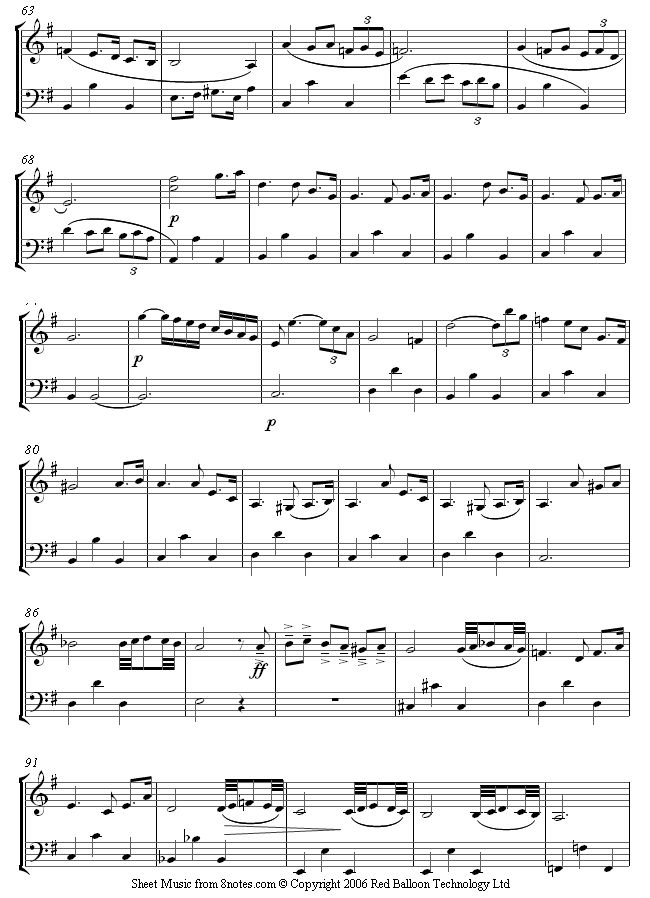 violin how to read sheet music