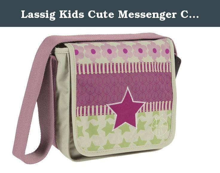 Lassig Kids Cute Messenger Crossbody Satchel Bag Pre-School Kindergarten Bag Kids Bag with Changeable Strap, Zip Pocket, Name Badge, Snap Hook and Drink Bottle Holder, Starlight Magenta. Whether old or young, children also enjoy the LASSIG Messenger Bag which are available as a pocket version. Obtainable in different designs and suitable for boys and girls, the Mini Messenger Bags are used to stow stationery, drinking bottle and sandwiches. Beyond that there is an additional zip pouch for...