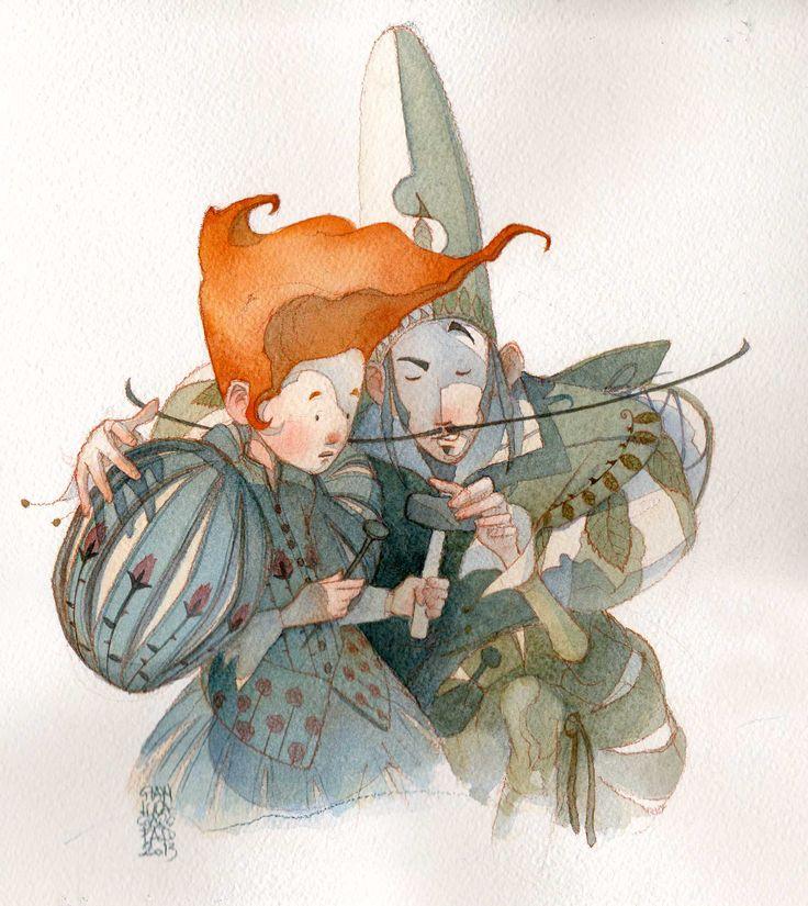 © Gianluca Garofalo, Milena Galeoto, Martin Widmark  Watercolour