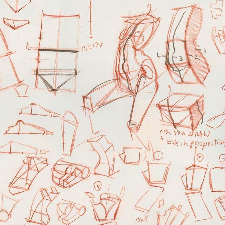 рисунки скульптуры человека