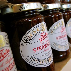 Wilkin & Sons jams from Tiptree in Essex are exported around the world.
