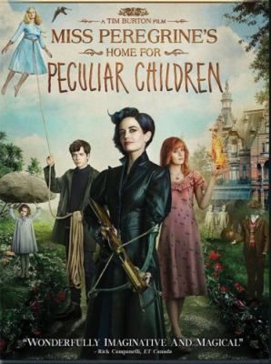 Miss Peregrine's Home for Peculiar Children [videorecording] / produced by Peter Chernin, Jenno Topping ; screenplay by Jane Goldman ; directed by Tim Burton. Follow this link to get your name on the holds list for our copy!