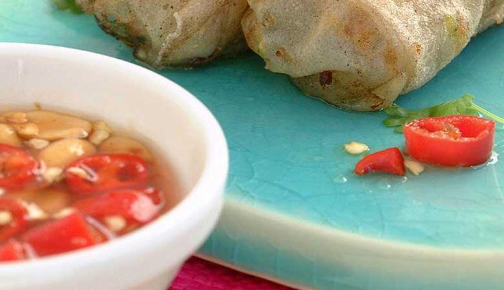 Chili og peanøttdip