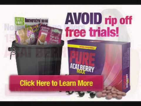 Acai Berry Diets And Acai Weight Loss