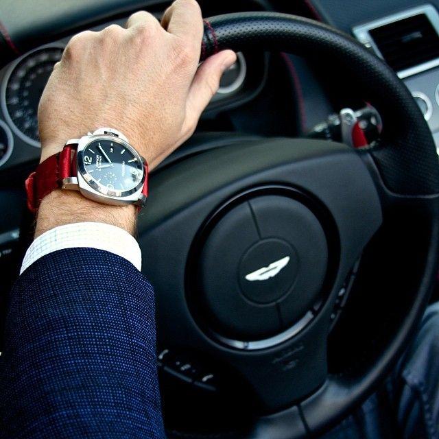 Panerai 312 & #AstonMartin DBS