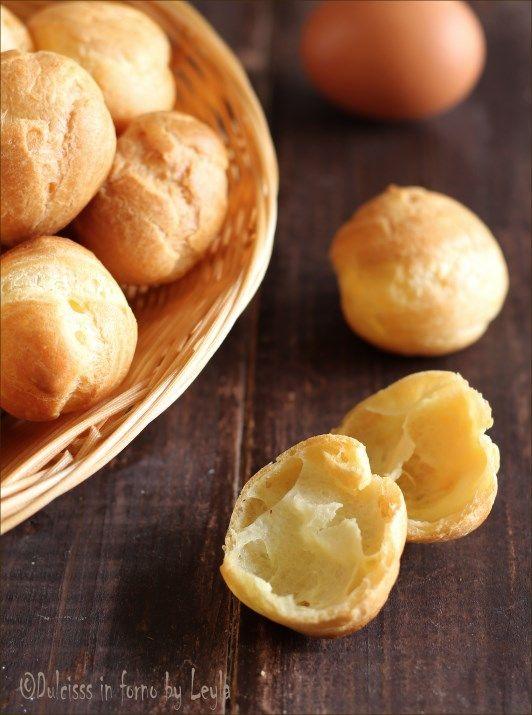 La ricetta per prepare i Bignè PERFETTI di pasta choux ! Morbidi e asciutti…