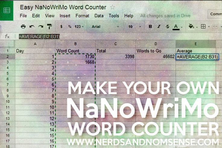 rules for counting words in an essay