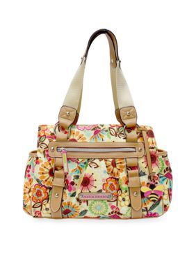 Lily Bloom  Landon Triple Section Satchel - Busy Bee - One Size