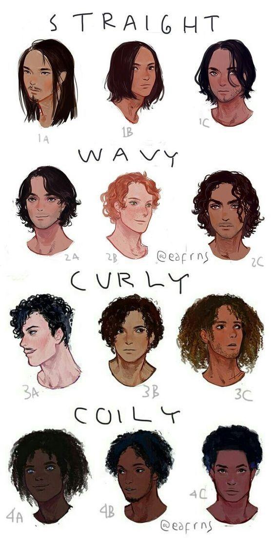 tipos de cabello para hombre en