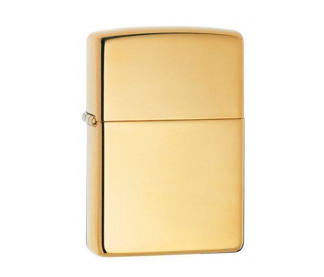 Zippo Classic High-Polished Brass Lighter Genuine USA Lifetime Guaranteed (Gift)