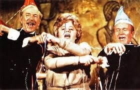 Jack Albertson, Shelley Winters and Red Buttons in the Poseidon Adventure